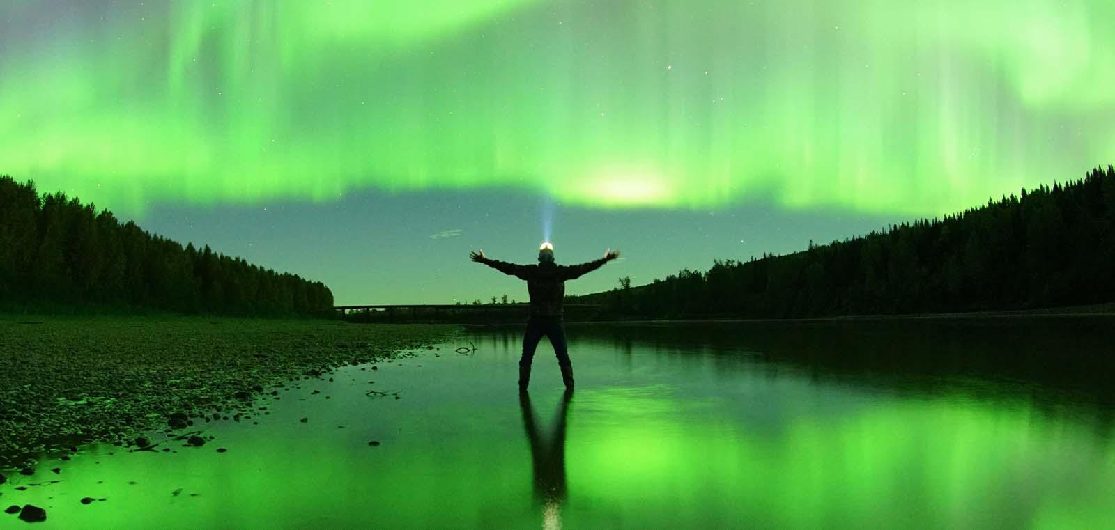 Northern lights - photo by Ryan Dickie