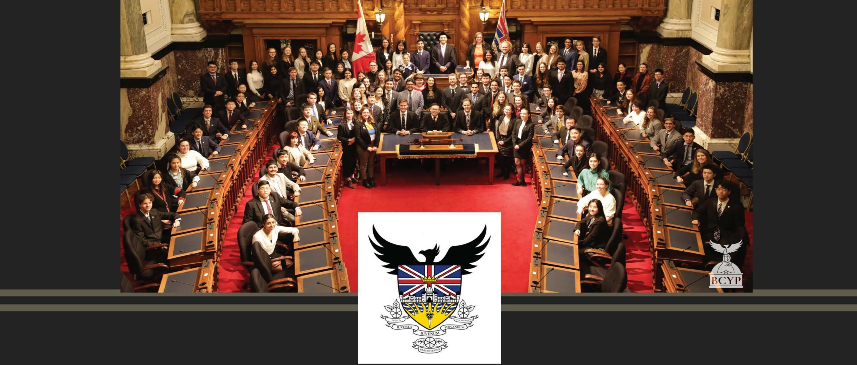 BC Youth Parliament 2021 poster